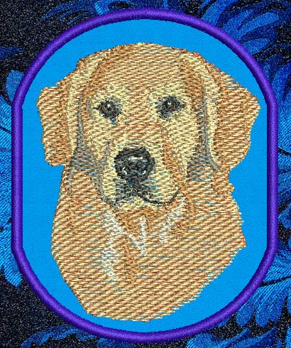 Animals World - Dog Breeds - Golden Retriever embroidery