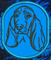 Basset Hound Embroidered Patch for Basset Hound Lovers - Click to Enlarge