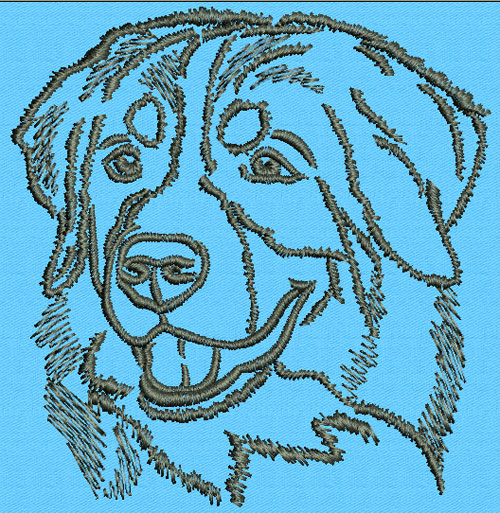 Jumbo Dog Breeds I Embroidery Designs - Animals & Insects - Design