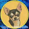 Chihuahua BT3993 Embroidered Patch for Chihuahua Lovers - Click to Enlarge