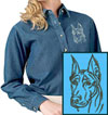 Doberman Embroidered Patch for Doberman Lovers - Click to Enlarge