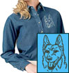 German Shepherd Embroidered Patch for German Shepherd Lovers - Click to Enlarge