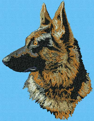 Embroidery Dog Designs (Patterns) - Home Page