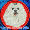 Maltese BT2290 Embroidered Patch for Maltese BT2290 Lovers - Click to Enlarge