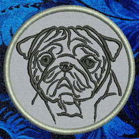 Oug Portrait Embroidery Patch - Click for More Information