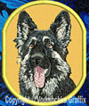 Shiloh Shepherd High Definition Portrait #1 Embroidered Patch for Shiloh Shepherd Lovers - Click to Enlarge