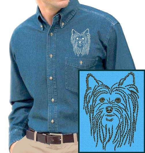 Yorkshire terrier lover gifts by vodmochka graffix