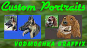 Custom Embroidery Portrait Digitizing by Vodmochka Graffix